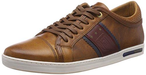 Pantofola d'Oro MARINELLA Uomo Low, Scarpe da Ginnastica, Marrone Tortoise Shell Jcu, 42 EU