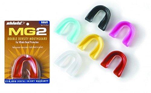 SHIELD-WILSON Zahnschutz MG2 zweistufig für Erwachsene ohne Strap transparent