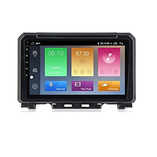 Amimilili Double DIN Bluetooth Car Radio HD Pantalla táctil para Suzuki Jimny 2019 Mirror Link/Manos Libres Bluetooth/WiFi/GPS/SWC + Cámara de visión Trasera,M300 3+ 32g