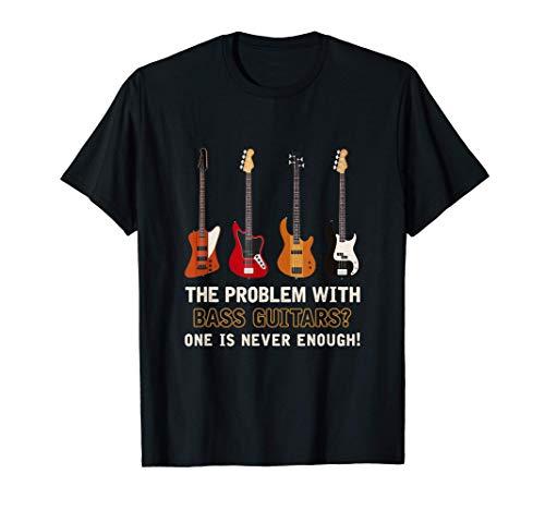 Bajista Instrumento Musical Rock Música Bajo Eléctrico Camiseta