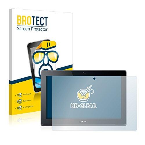 BROTECT Schutzfolie kompatibel mit Acer Aspire Switch 11 V (2 Stück) klare Bildschirmschutz-Folie