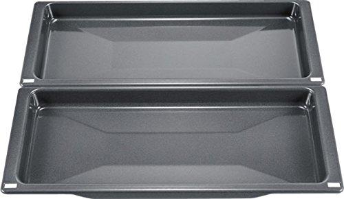 Constructa cz11ch15e0Ofen Auflaufform–Backblech, Universal, rechteckig, rechteckig, Schwarz, 1,48kg, 430mm