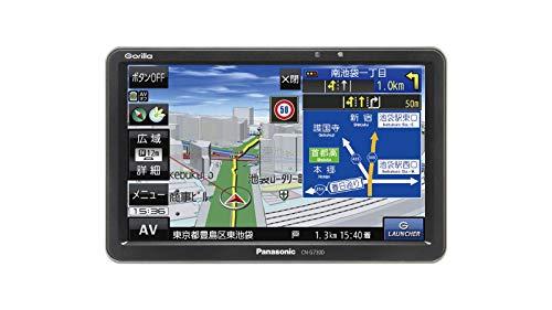 パナソニックポータブルカーナビゴリラCN-G730D7インチワンセグSSD16GBバッテリー内蔵PND2019年モデルCN-G730D