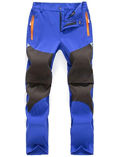 CHENXI Kinder Outdoorhose mit abtrennbare Hosenbeine Dunkelblau 130