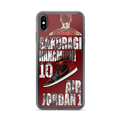 Compatible con iPhone 11 X/XS Caso Baloncesto Japonés Anime Slam Dunk Hanamichi Player Sport Manga Pure Clear Phone Cases Cover