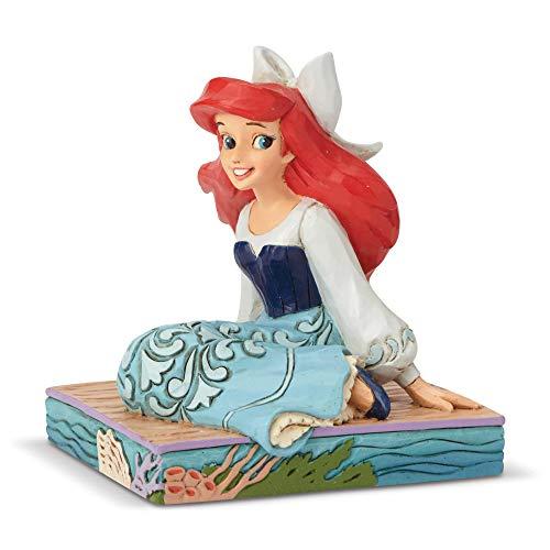 Disney Tradition by Jim Shore Ariel Personality Figur aus Kunstharz, Mehrfarbig, 9 cm