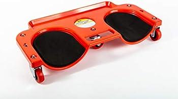 Maxxhaul 80748 Rolling Knee Creeper/Pads ABS High-Impact Frame