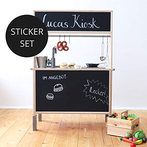 Limmaland Tafelfolie passend für die Rückwand deiner IKEA DUKTIG Kinderküche - Kinderzimmer Dekoration - Möbel Nicht inklusive