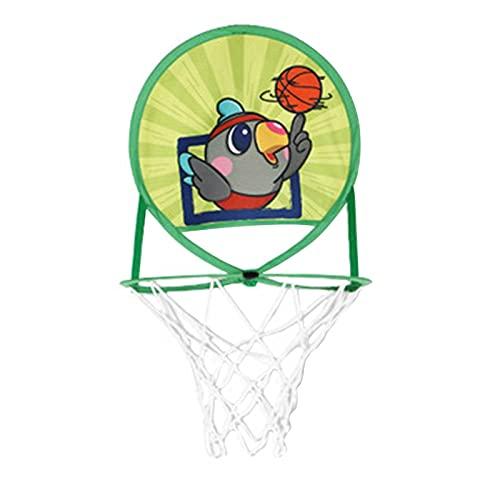 Aro de baloncesto para niños, mini aro de baloncesto, plegable, no perforado, un juego novedoso para todos los aficionados al baloncesto