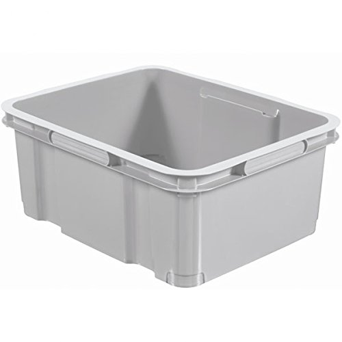 CURVER | UNIBOX 20L W/O R FEET -GREY099-EPACK, grey, , xx cm
