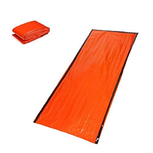 Dormire Survivor Series Emergency Bag multi funzione della coperta di sopravvivenza in alluminio Sacco a pelo arancione 1PC