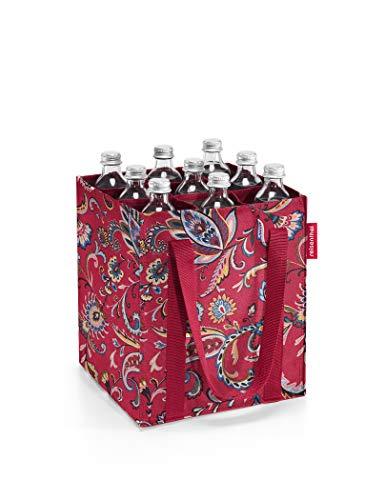 Reisenthel Bottlebag Sac à bouteille Motif cachemire Ruby