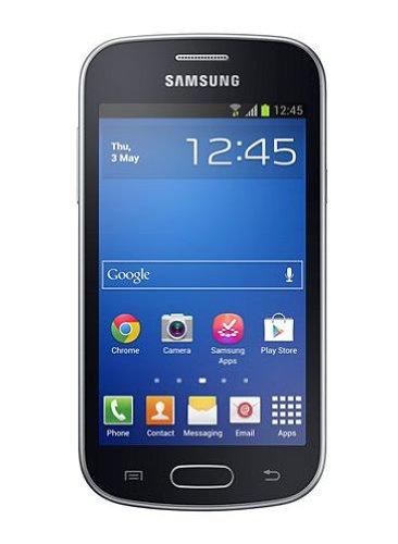 Samsung GT-S7390MKADBT Samsung Galaxy Trend Lite Smartphone (10,2 cm (4 Zoll) TFT-Display, 1GHz, 4GB RAM, 3,2 Megapixel Kamera, 4GB interne Speicher, USB 2.0, Android 4.1) Midnight-Black