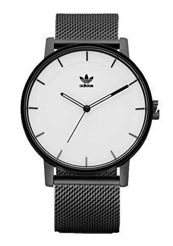 Adidas Herren Analog Quarz Smart Watch Armbanduhr mit Edelstahl Armband Z04-005-00