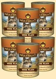 Wolfsblut - Wide Plain 6 x 395g mit Mind. 90% Pferdefleisch