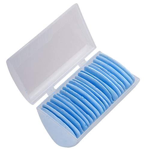 Weilifang Sastres Marcado Dibujar y los jaboncillos Conjunto Costura Marcador de Tiza Sastre a Medida acolchar Tela del paño Fabricante del Kit, tizas 20pcs, Azul