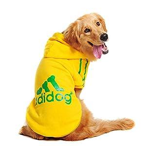 Rdc Pet Large Dog Hoodies, Apparel, Fleece Adidog Hoodie Sweater, Cotton Jacket Sweat Shirt Coat from 3XL to 9XL for Large Dog Medium Dog