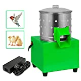 LAKAGO Poultry Hair Removal Machine 110V 80W Stainless Steel Chicken Dove Feather Plucking Machine for Smaller Birds Doves