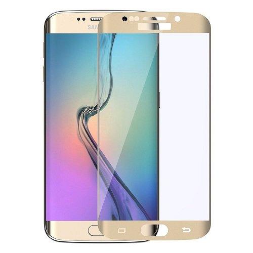itronik Panzerglas für Samsung Galaxy S7EDGE S7 Edge/Bildschirmschutzglas/Schutzglas/Glasfolie Gold