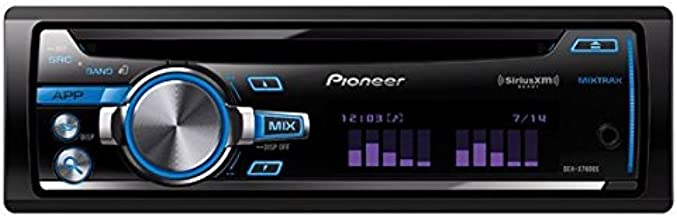 Pioneer Single DIN Car Stereo With MIXTRAX - DEH-X7600S