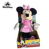 Famosa Softies - Peluche Minnie Vestido Rosa Clasico 25cm Calidad Super Soft - Blister-