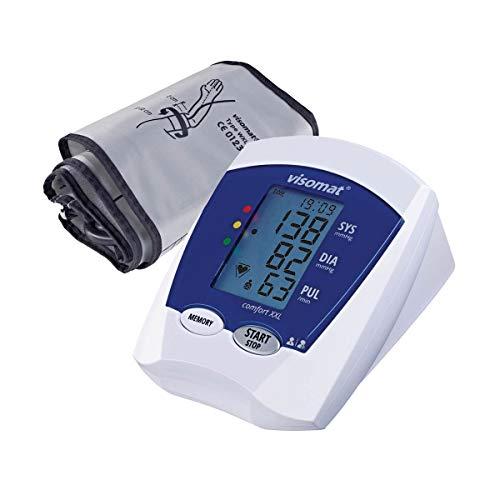 Visomat 24076 comfort XXL Blutdruckmessgerät Oberarm große Manschette bis 52cm Armumfang, 800 g
