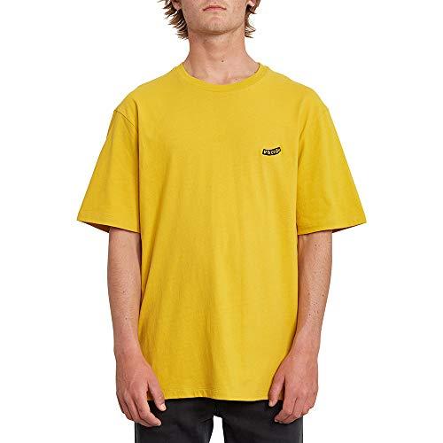 Volcom Herren T-Shirt Pistol Blanks Bxy Ss L Gold