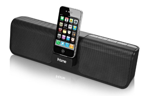 travel speakers for ipods iHome iP46 Portable 30-Pin iPod/iPhone Speaker Dock