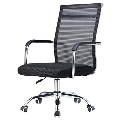 Computer Chair Home Mesh Staff Office Chair Conference Breathable Bow Back Chair