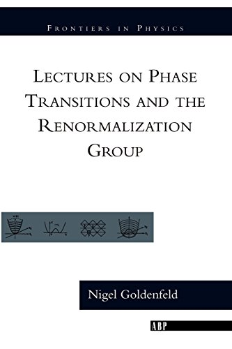 Lectures On Phase Transitions And The Renormalization Group (Frontiers in Physics)