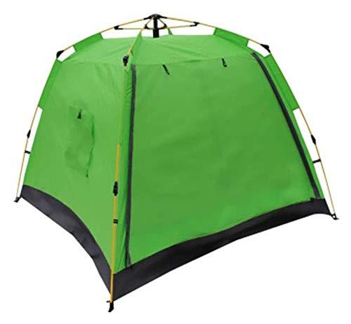 Tienda de campaña para familias portátiles para la Tienda a Prueba de Viento a Prueba de Agua al Aire Libre con la protección UV del Refugio del Sol (Color : Green, Size : 210x210x170cm)