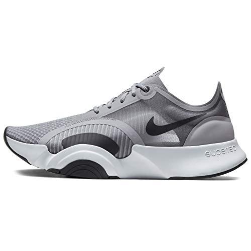 Nike SuperRep Go, Zapatillas Hombre, Particle Grey/dk Smoke Grey-lt Base Grey, 37.5 EU