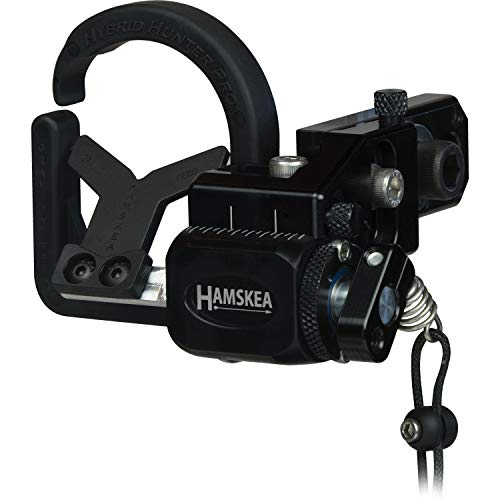 Hamskea Archery Solutions Hybrid Hunter Pro Right Hand Black Micro Tune Arrow Rest (210772)
