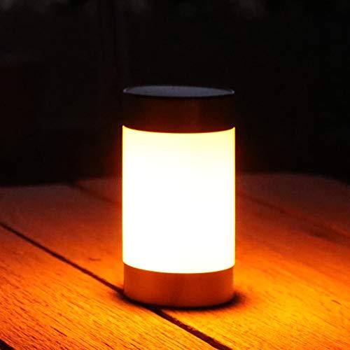 Frostfire Lazeflame Solarleuchte für Garten und Tisch, Flammeneffekt