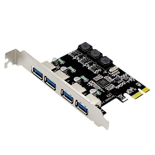 ACAMPTAR 4 Anschluss USB 3.0 Pci Express Erweiterungs Karte Pci-E USB 3.0 Host Controller 4 X USB 3.0 USB 3.0 Erweiterungs Karten