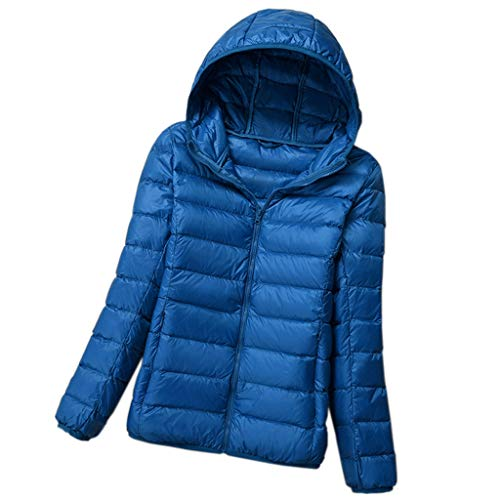 Lichtgewicht donsjack, dames donsjack, capuchon donsjack, winter korte mode jas, staande kraag donsjack, opvouwbare opslag donsjack