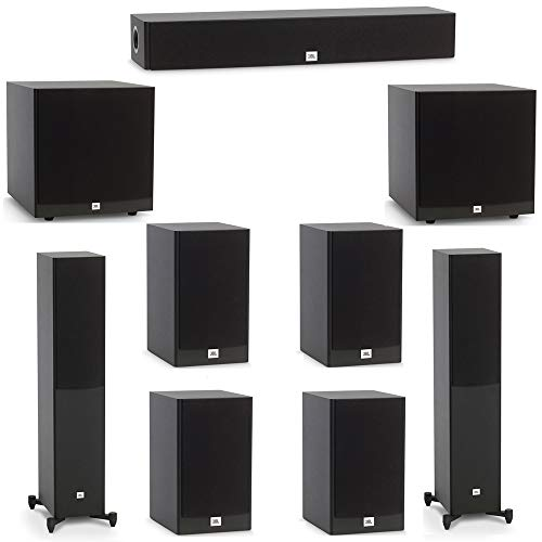 Review JBL 7.2 System with 2 JBL Stage A170 Floorstanding Speakers, 1 JBL Stage A135C Center Speaker...