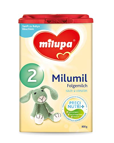 Milupa Milumil 2 Precinutri+ Folgemilch nach dem 6 Monat, 1er Pack (1 x 800 g)