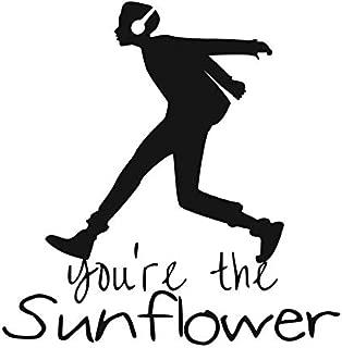 Creative Concept Ideas You're The Sunflower Spiderverse CCI Decal Vinyl Sticker Cars Trucks Vans Walls Laptop Black  5.5 x 5.4 in CCI2240