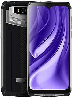 Blackview BV9100 Rugged Phone, 4GB+64GB, IP68/IP69K/MIL-STD-810G Waterproof Dustproof Shockproof, Dual Cameras, 13000mAh Battery, Face ID & Fingerprint ID, 6.3 inches Android 9.0, NFC, 4G(Silver)