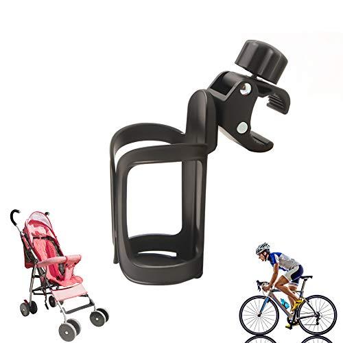 El estante para biberones del cochecito de bebé,el estante para biberones de bicicleta,se puede girar 360 grados y la instalación es fácil y rápida,puede contener una variedad de biberones deportivos