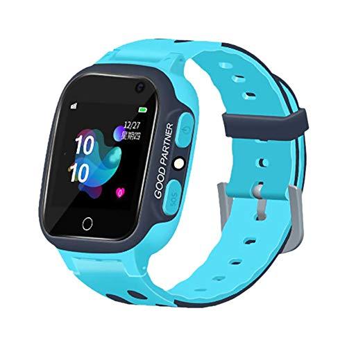 Reloj Inteligente para niños Perseguidor GPS Reloj Inteligente para niños Reloj de posicionamiento a Prueba de Agua Súper Larga Espera Relojes Deportivos Teléfono Inteligente para niños