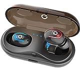 Écouteurs Bluetooth sans Fil 5.0 Sport Étanche Oreillette, Casque Intra Auriculaire...