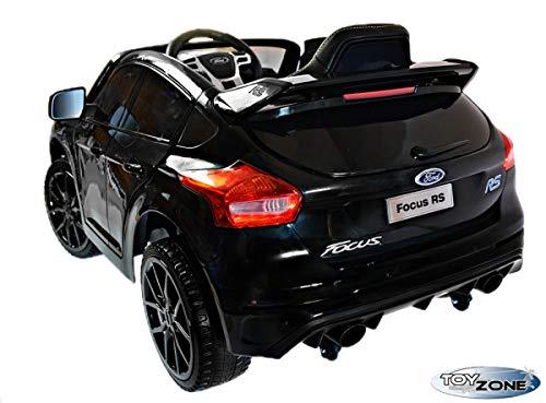 RC Auto kaufen Kinderauto Bild 6: ToyZone Kinderfahrzeug 12V Kinderauto Kinder Elektro Auto Ford Focus RS MP3 USB Ledersitz Eva Gummiräder 2,4 GHZ*