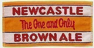 Newcastle Brown Ale Cotton Bar Towel (pp) by signs-unique