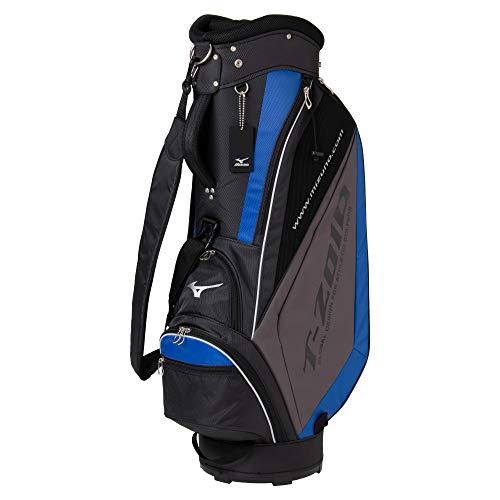 MIZUNO(ミズノ)ゴルフキャディーバッグT-ZOIDティーゾイドメンズ軽量約2.7kg9.5型(77cm)/47インチ対応/5分割ブラック×ブルー5LJC179300