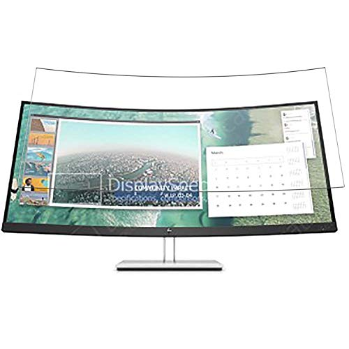 Vaxson Protector de Pantalla de Privacidad, compatible con HP E344c 34' Display Monitor [no vidrio templado] TPU Película...