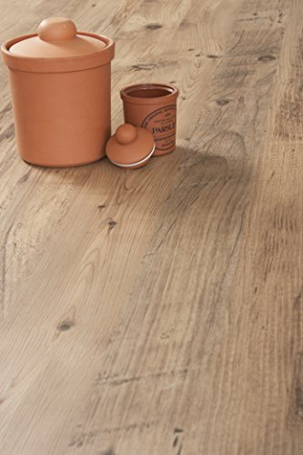 WORKTOPEXPRESS Rustikales Holz - Resopal Küchenarbeitsplatten (3m × 600mm × 38mm)