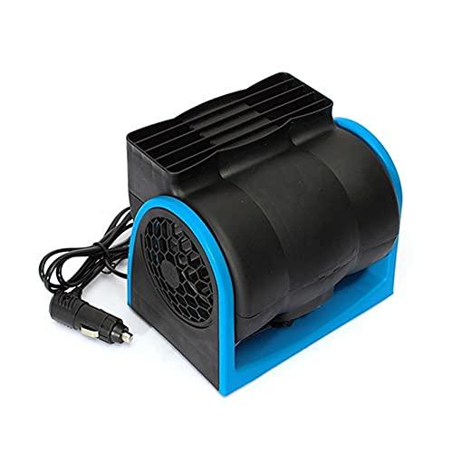 12VRefrigeración del coche 12V del acondicionador de aire del vehículo del barco del carro del coche del ventilador del aire fresco de velocidad ajustable silenciosa enfriador con encendedor del coche