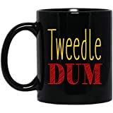 Photo de Tweedle Dum Halloween Costume 11 oz. Black Mug